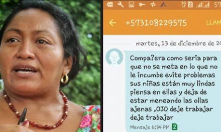 Comunicado en rechazo a las amenazas a la lideresa Wayuu Jackeline Romero Epiayú