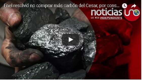 Enel resolvió no comprar más carbón del Cesar, por considerarlo manchado de sangre