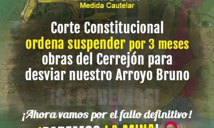 Corte Constitucional suspende obras del Cerrejón para desviar el Arroyo Bruno