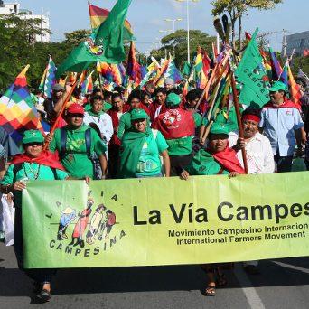 Fortalezcamos los derechos humanos de los campesinos y las campesinas